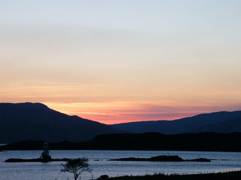 Sunset over Loch Linnhe