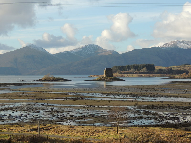 Driving to cottages in 1st week of March 2017 - a couple of miles away - couldn't resist stopping and getting the camera out and taking this shot of Castle Stalker.